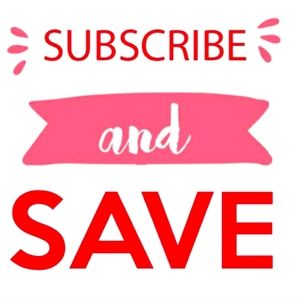 Subscribe and SAVE!
